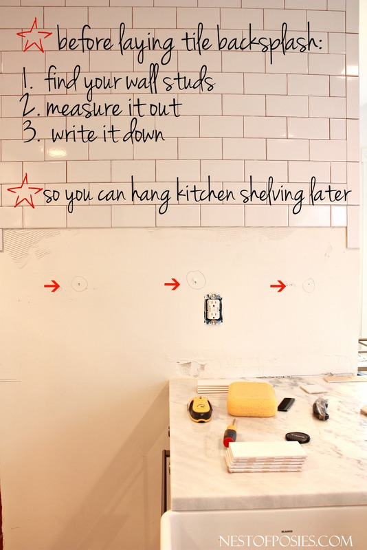 Simple tips and ideas on what to do when doing a tile backsplash