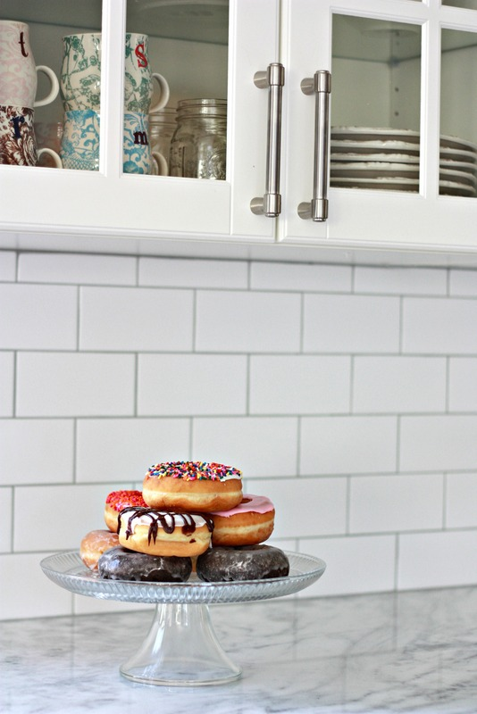 Subway Tile with Silver Grout