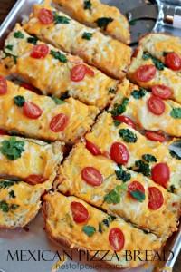 Mexican Pizza Bread