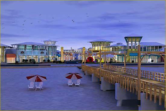 Pier Park in PCB