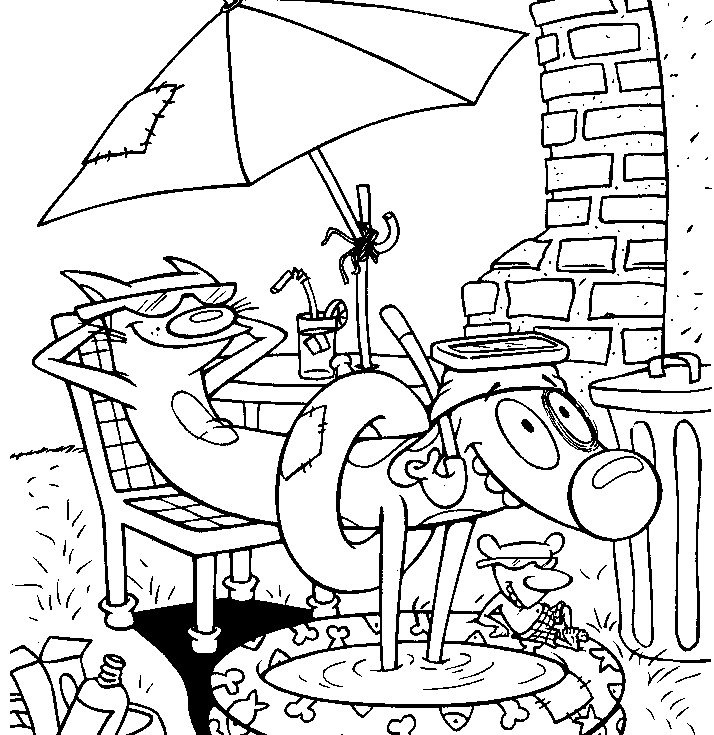 summer coloring book pages - photo#9