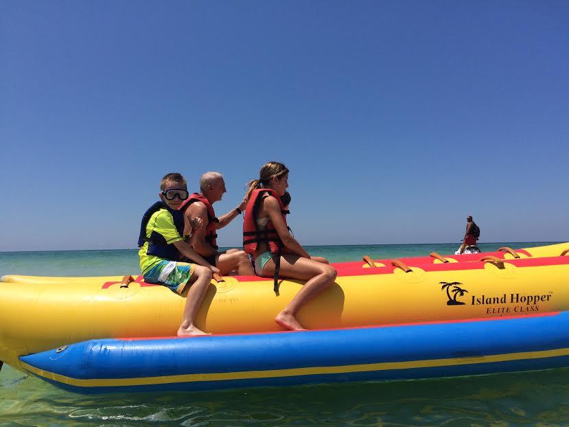 Banana Boating in PCB, FL