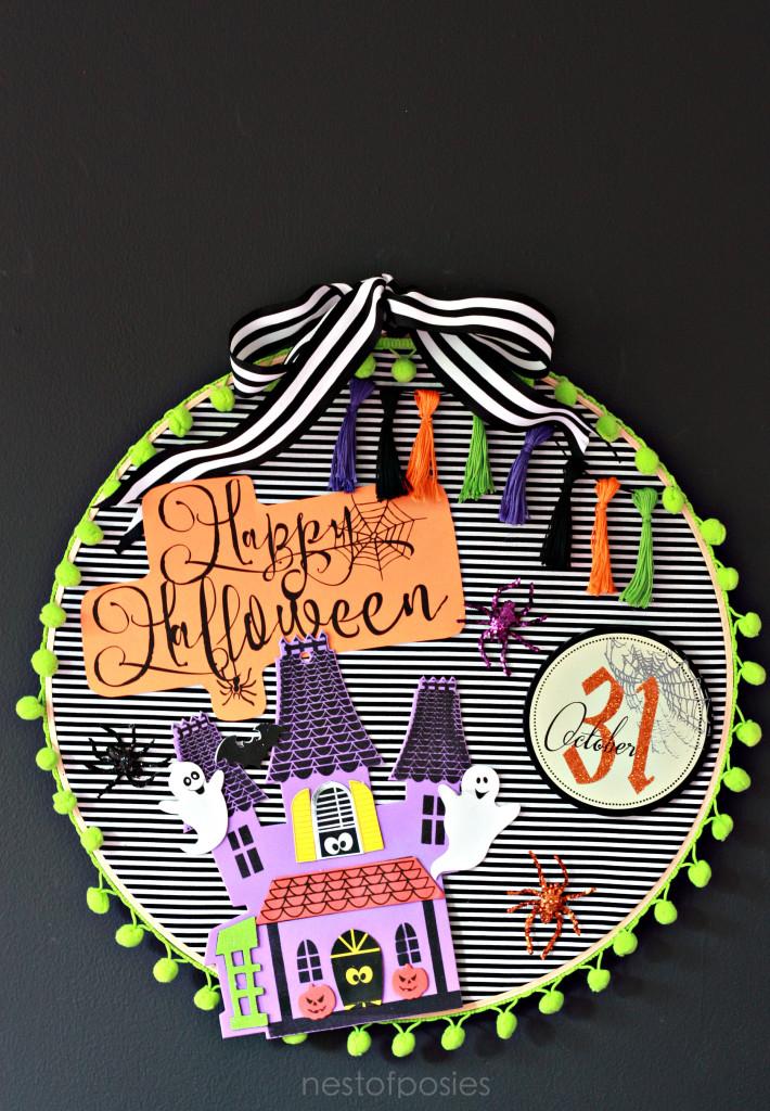 Halloween Hoop Art