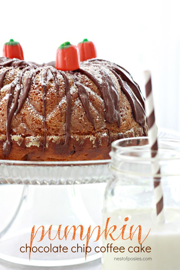 Chocolate Chip Coffee Cake With Yellow Cake Mix