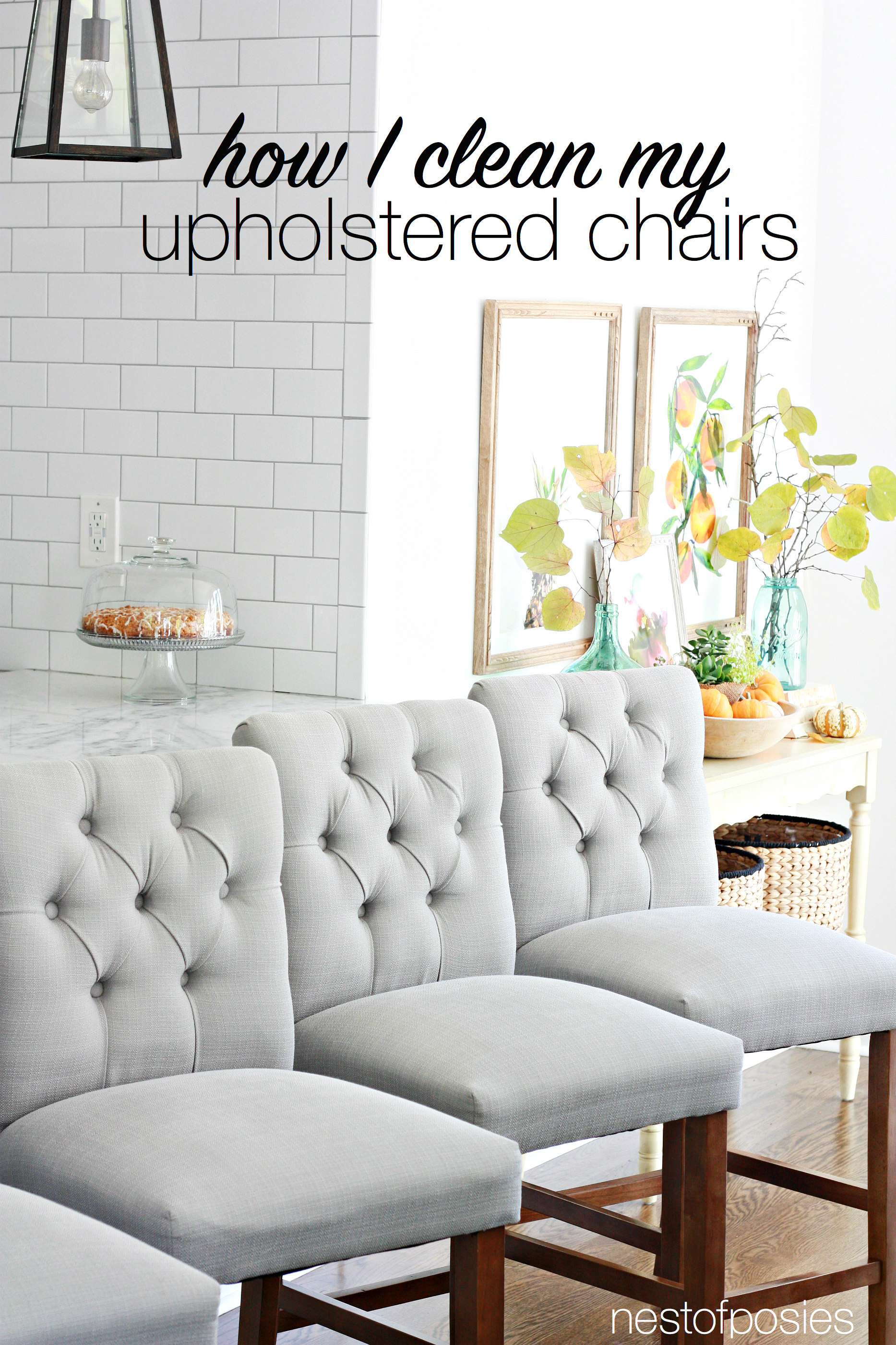 But What This Post Is Mainly About How To Clean Upholstered Chairs Because I Have 2 Great Tips Share With You All