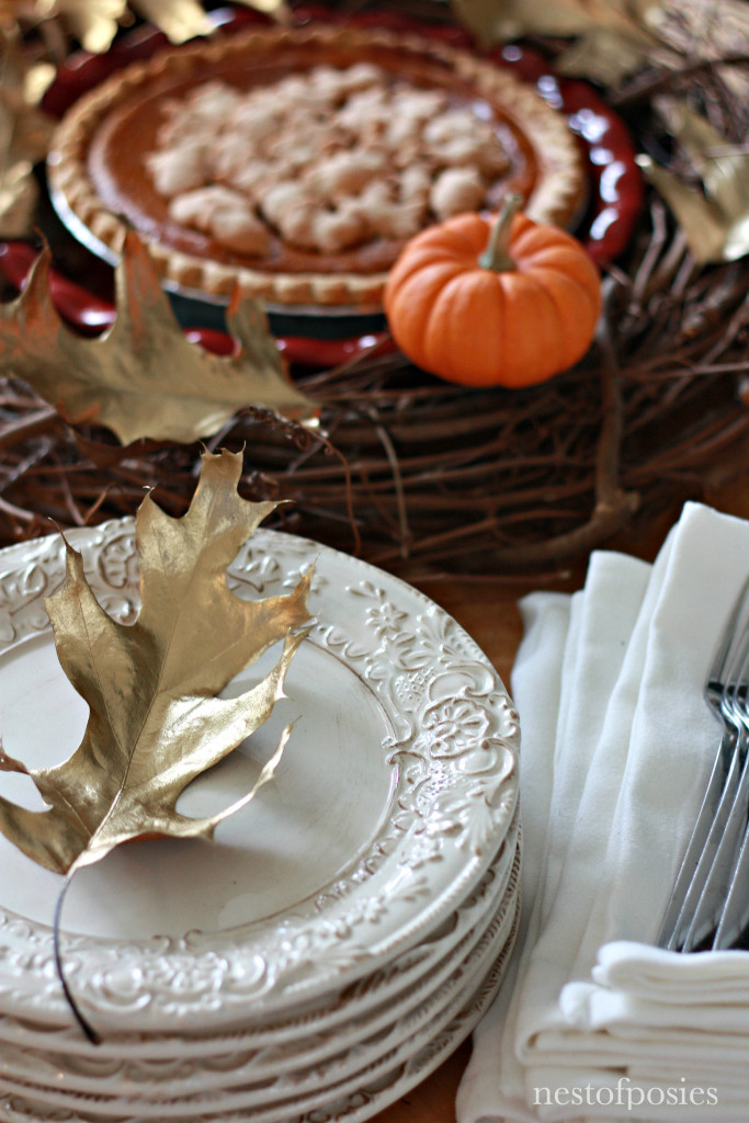 Tips on serving a Thanksgiving meal Buffet Style