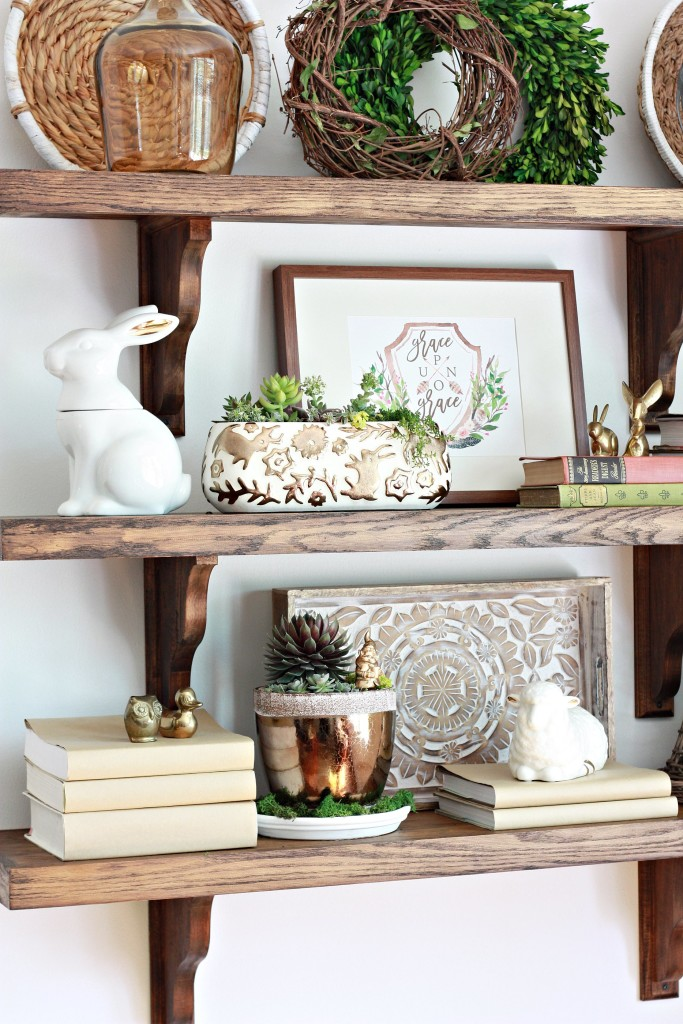 How To Decorate Bookcase In Kitchen