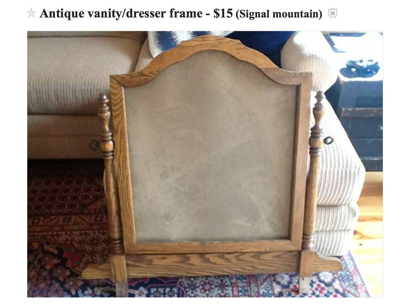 Craigslist Wooden Dresser Frame