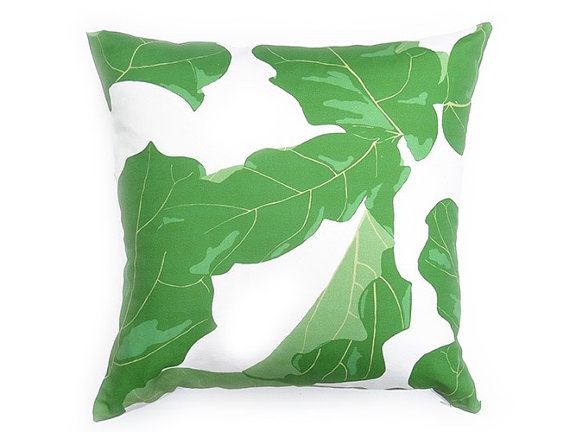 Fiddle Leaf FIg Palm Decor Pillow Cover