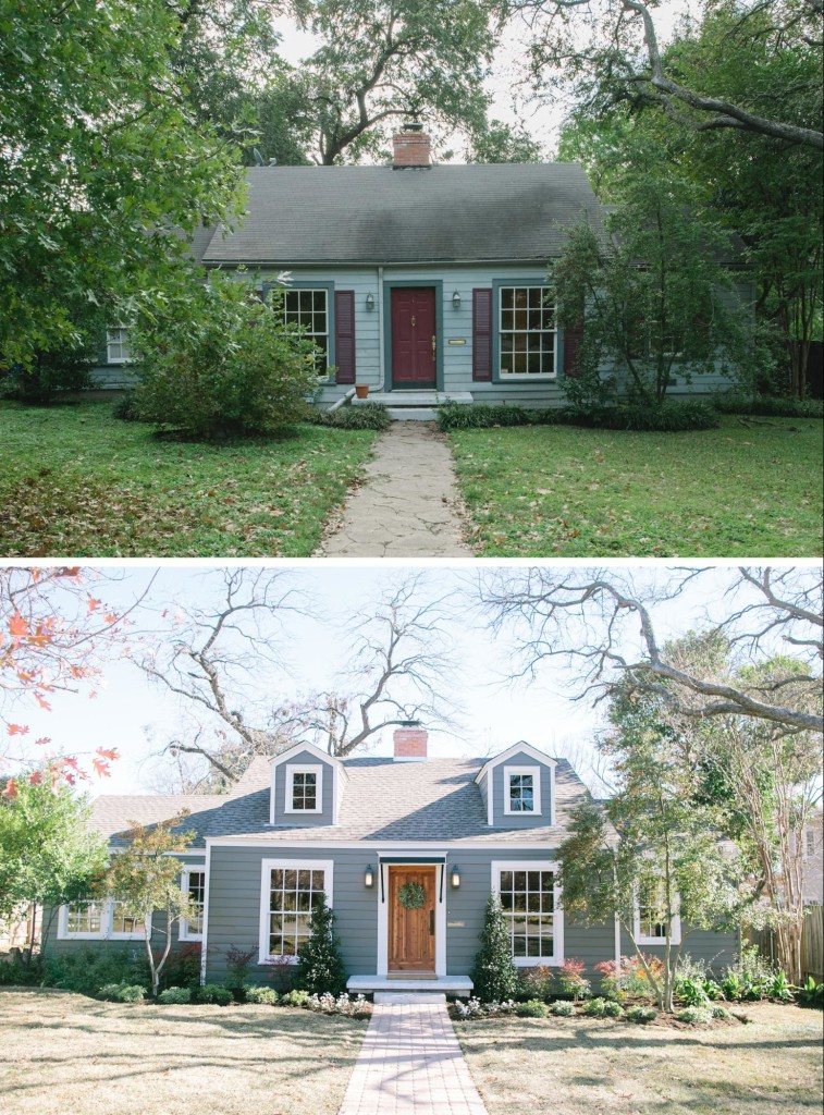 Curb appeal and landscaping ideas from fixer upper for Garden design ideas curb appeal