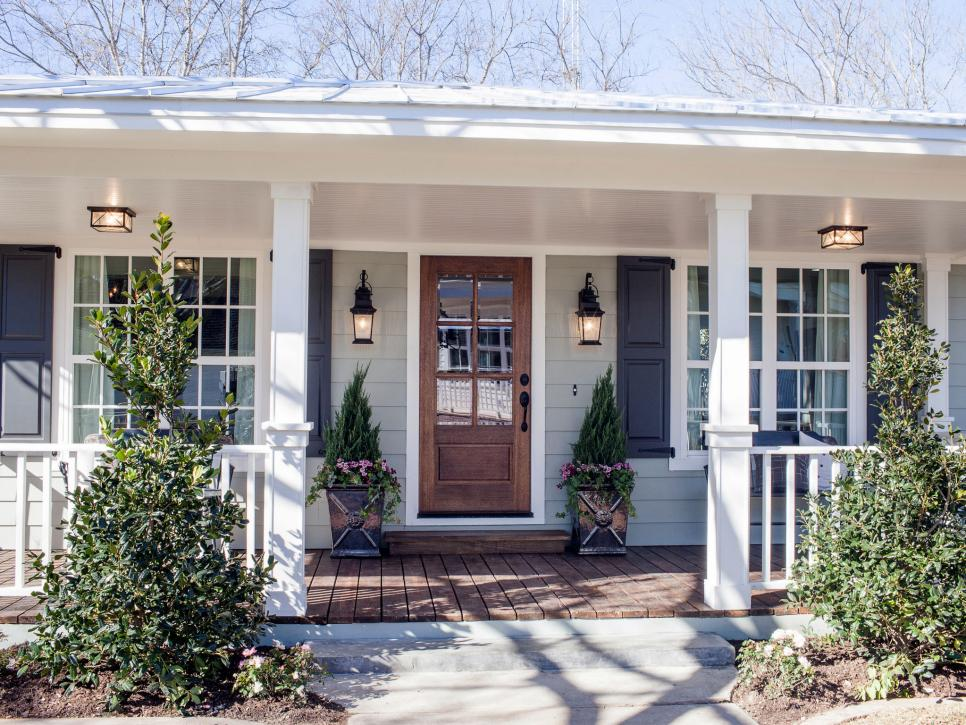 Curb Appeal and Landscaping Ideas from Fixer Upper on front step lanterns, front step fences, front step figurines, front step landscaping, front step decks, front step boxes, front step walkways, front step flowers, front step lighting, front step benches, front step garden, front step pavers,