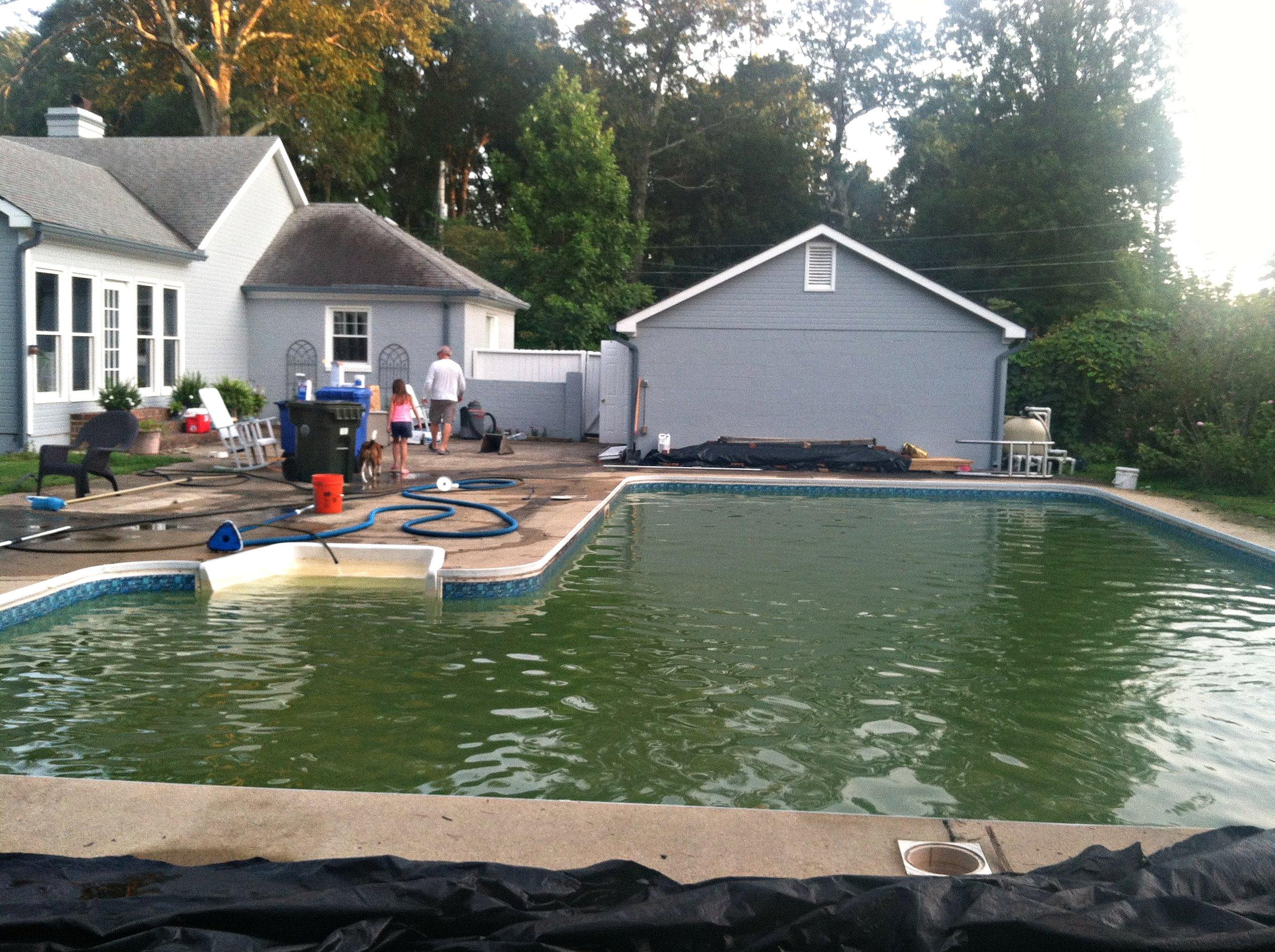 Black Pool Water