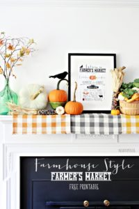 Autumn Farmer's Market Printable