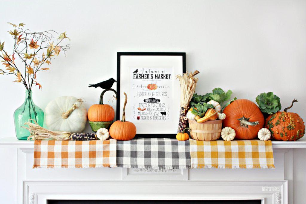 Autumn Farmer's Market Printable