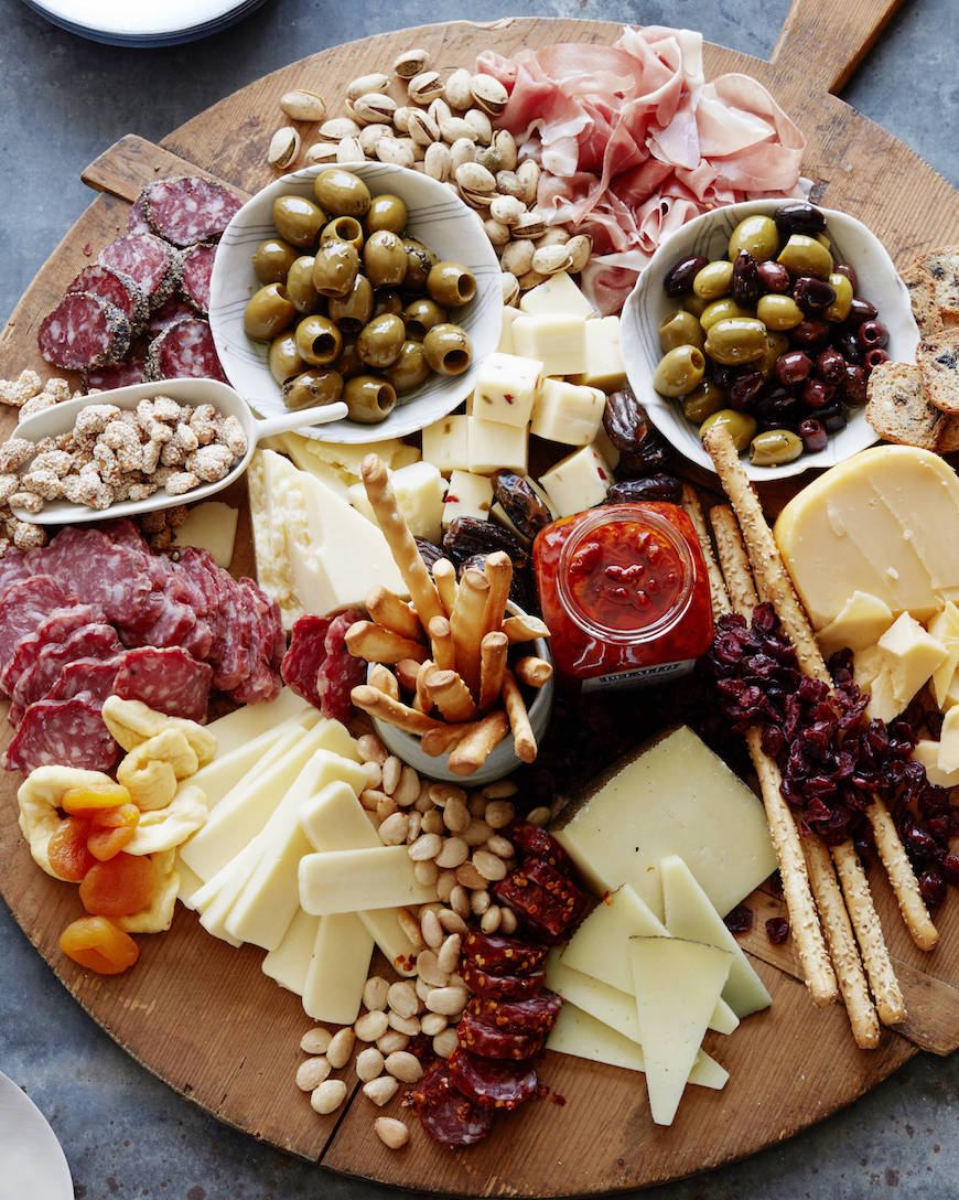 appetizer-meat-and-cheese-board - Nest of Posies