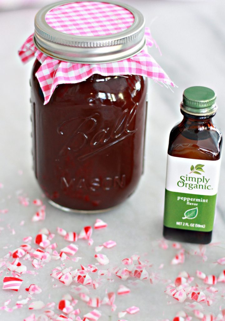 Homemade Chocolate Peppermint Syrup Recipe