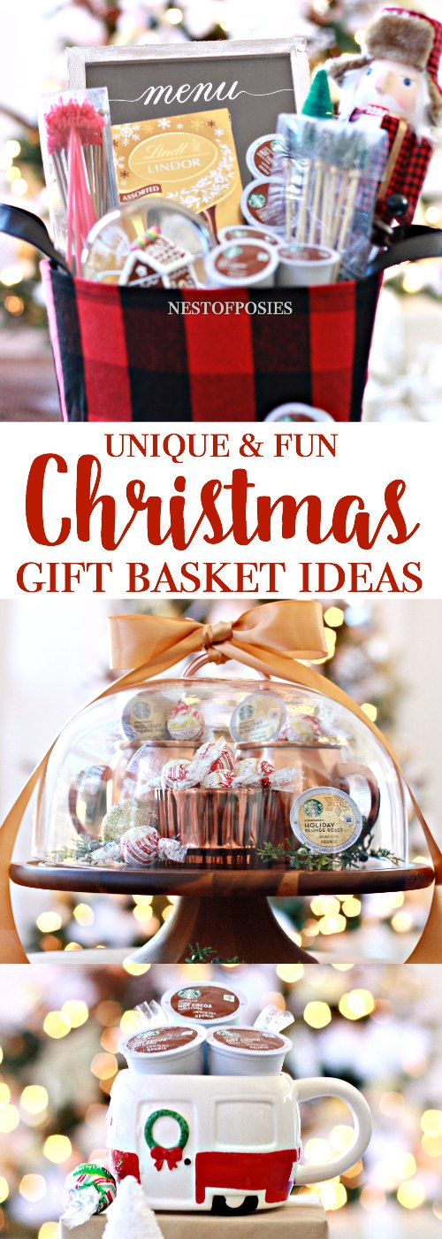 Awesome christmas gift basket ideas for Fun blog ideas