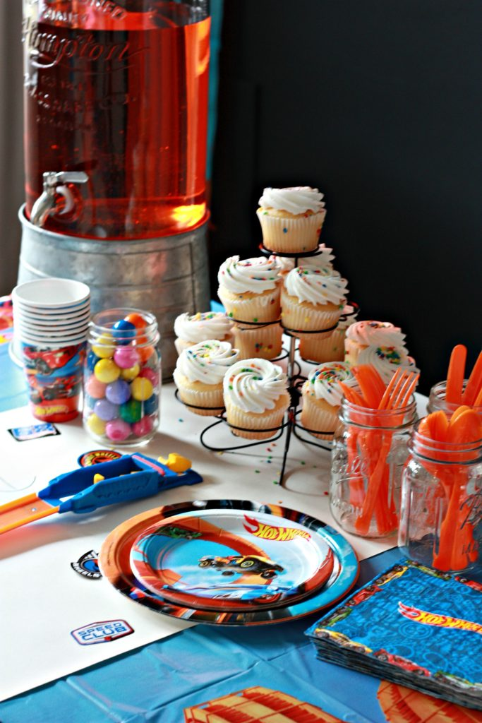 Hot Wheels Birthday Party