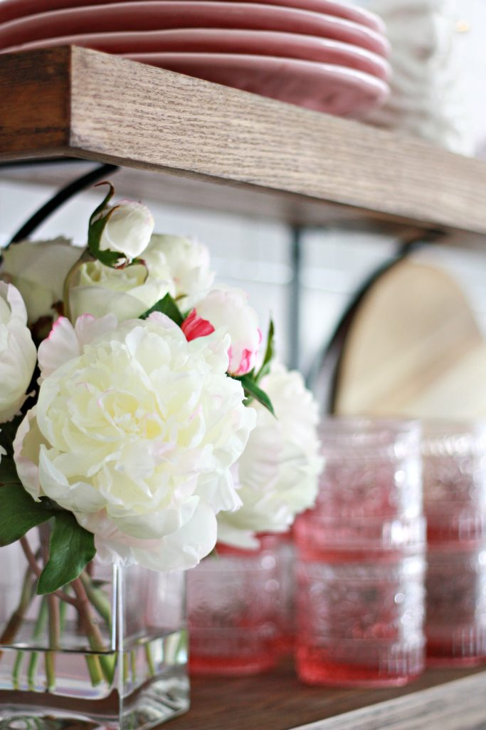 Spring Florals in Our Home's Decor