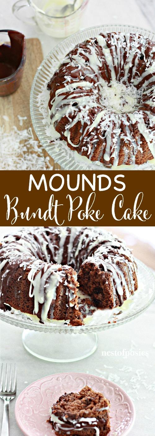 Mounds Bundt Cake