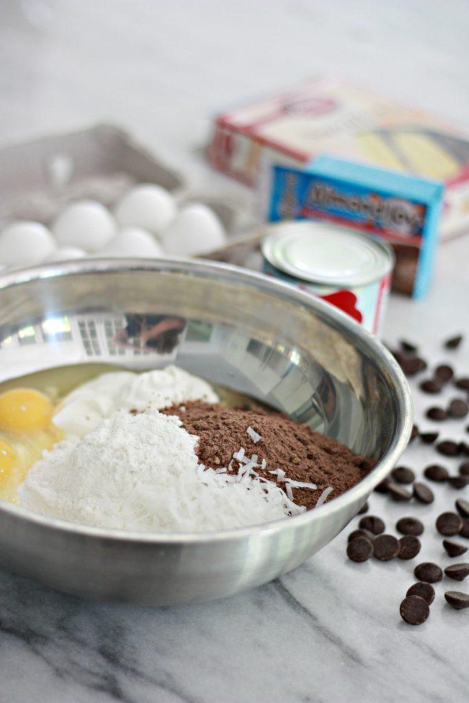 Chocolate Mounds Bundt Cake