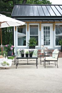 Patio Decorating Ideas Plus Amazing Renovation Reveal