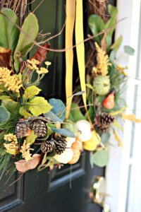 DIY Nature Inspired Fall Wreath