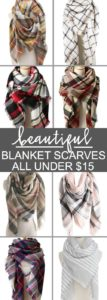 Blanket Scarves All Under $15