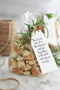 Homemade Sourdough Croutons – a great gift idea!