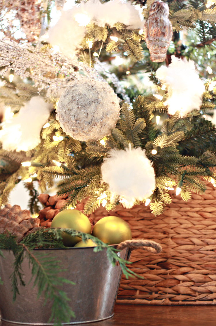 Our Mountain Woodland Christmas Tree