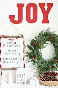 Repeat the Sounding Joy Christmas Printable