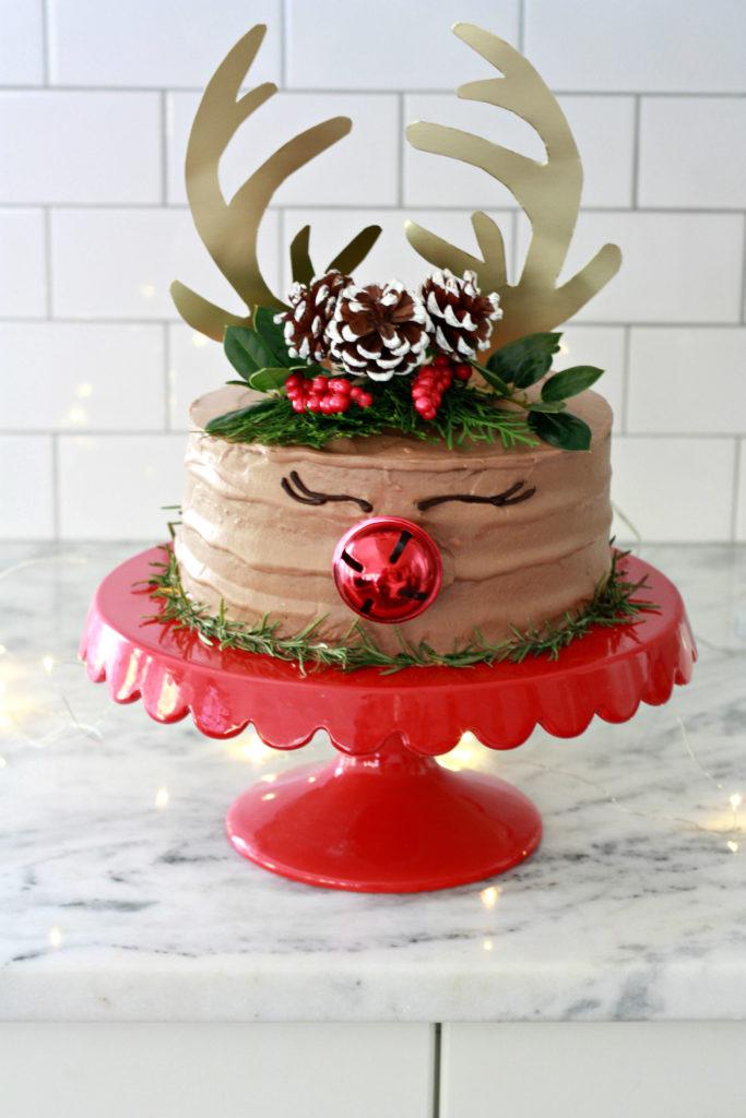 graphic regarding Printable Reindeer Antler referred to as Rudolph Antler Cake Topper Printable - Nest of Posies